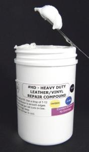 HD - Heavy Duty Leather/Vinyl Repair Compound