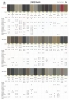 Buick Color Chart