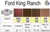 Aniline Leather Color - Ford King Ranch